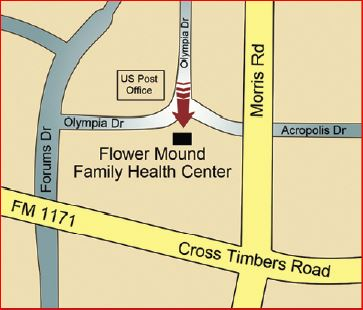 Family Health Center Map